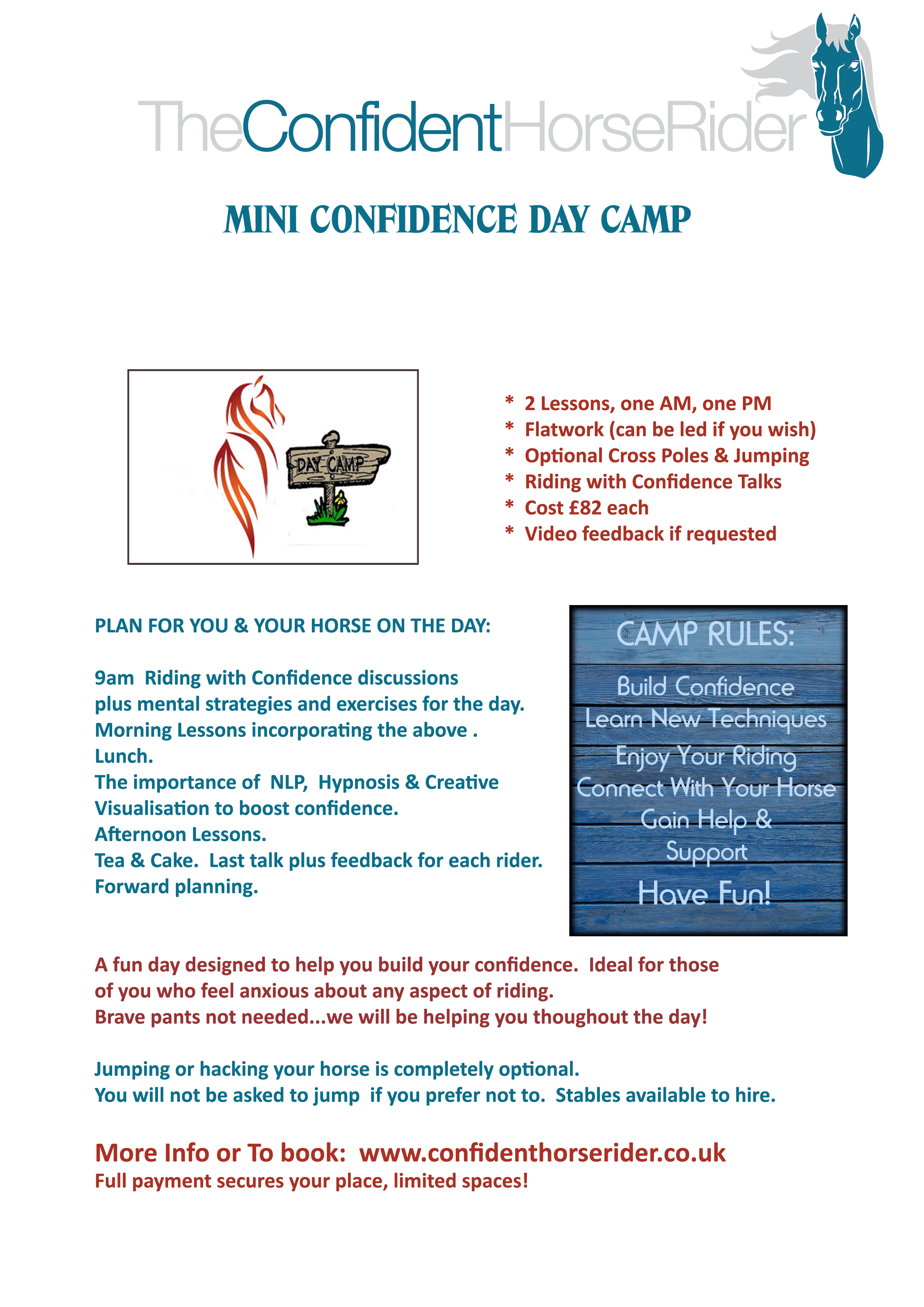 Confidence Camp