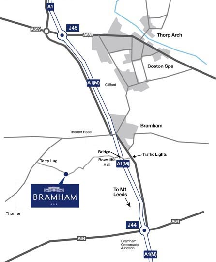 Bramham Map